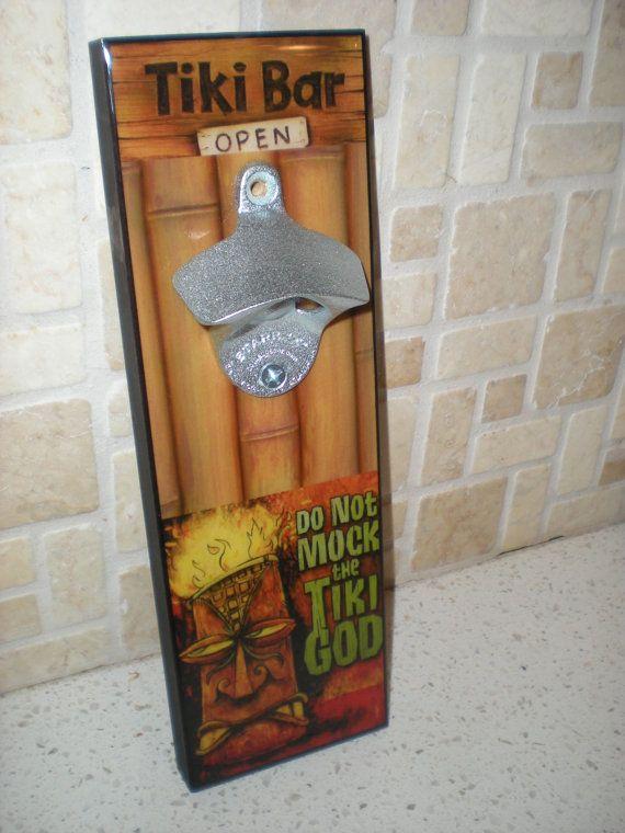 Christmas Gift Idea / Tiki Bar DECOR wall by FlipItCraftworks ...