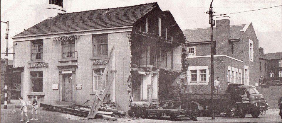 Corner of Blackburn rd and Belmont road 1962
