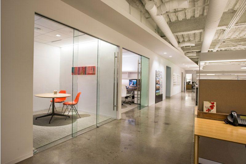 office corridor door glass. Klein Sliding Glass Door System Gensler Office Corridor