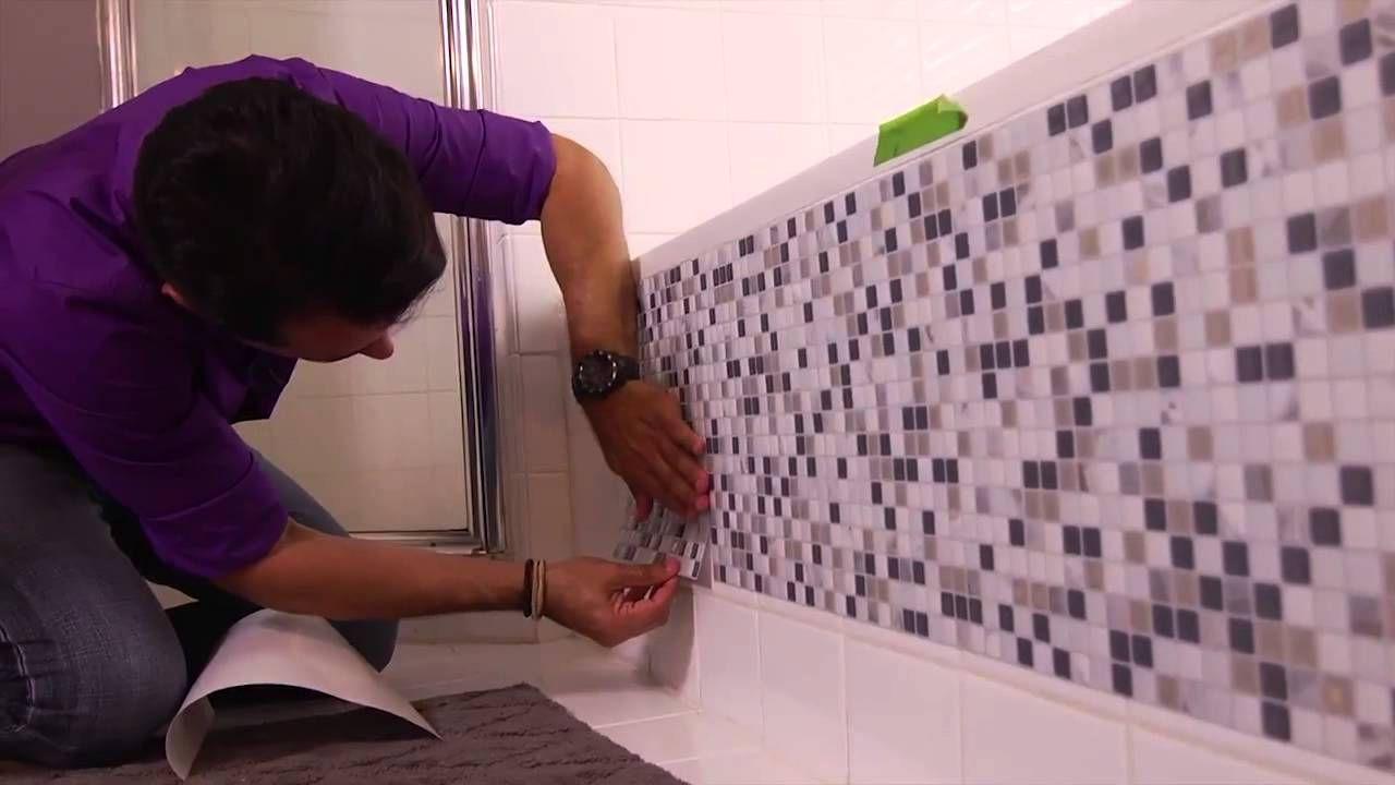 Azulejos adhesivos estos azulejos tienen muchas ventajas - Azulejos adhesivos bano ...