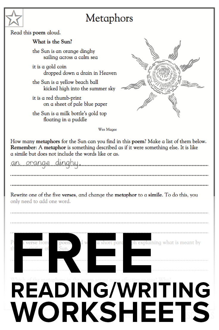 Get FREE reading and writing worksheets from GreatSchools ...