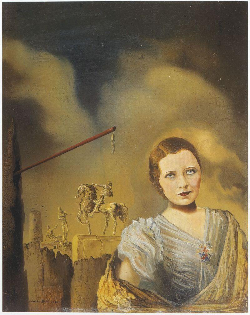 Citaten Picasso : Salvador dalí woman s portrait dali