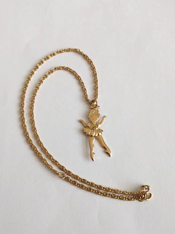 Avon 70 S Ballerina Necklace I Still Have Mine Ballerina Necklace Avon Jewelry Vintage Jewelry