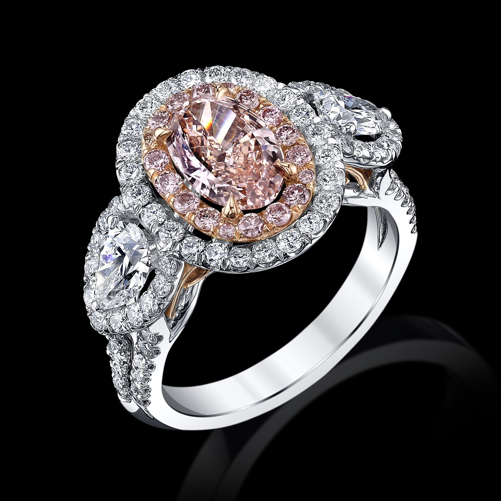 What your colored engagement ring means Colored