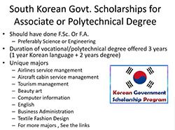 Fully Funded Government Scholarships South Korea 2017 Apply Online Government Jobs In Pakistan Jobs In Pakistan Online Jobs