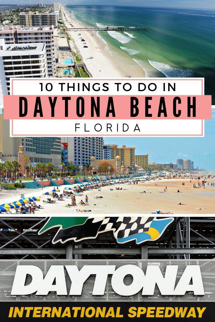 10 Amazing Things To Do In Daytona Beach Florida In 2020 Daytona Beach Florida Florida Beaches Daytona Beach Boardwalk