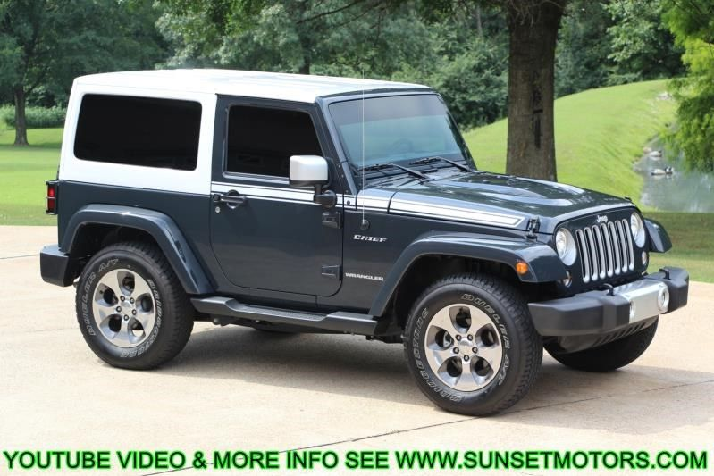 For Sale: 2017 JEEP WRANGLER SAHARA CHIEF at Sunset Motors Inc.