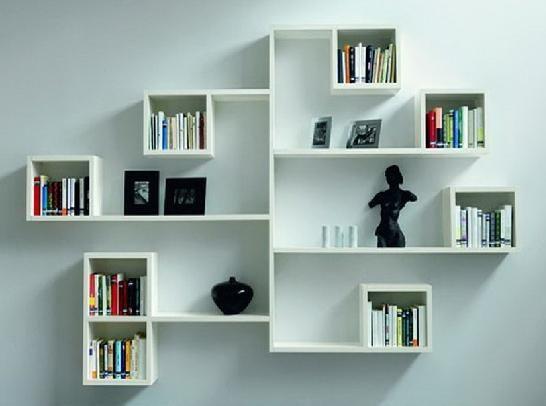 17 Best Photos of Wall Storage Ideas - Wall Shelves Ideas, Living ...