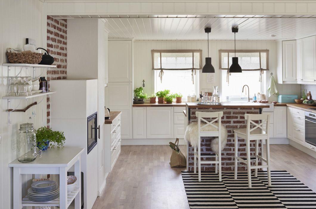 Keuken Ikea Open : Ikea la amplia y acogedora cocina comedor de planta abierta de