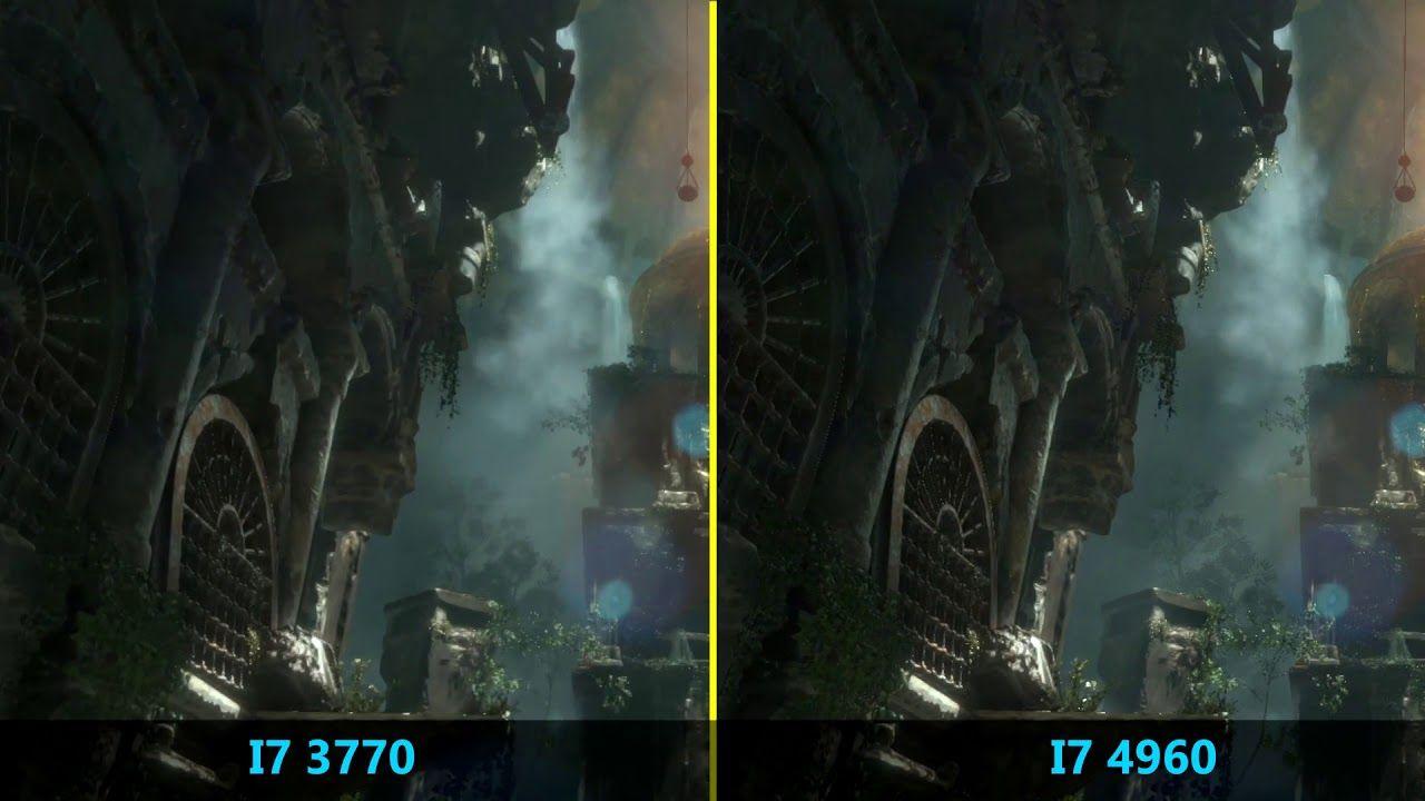 Core I7 3770 VS I7 4960hq test comparison gaming | Virtual Reality