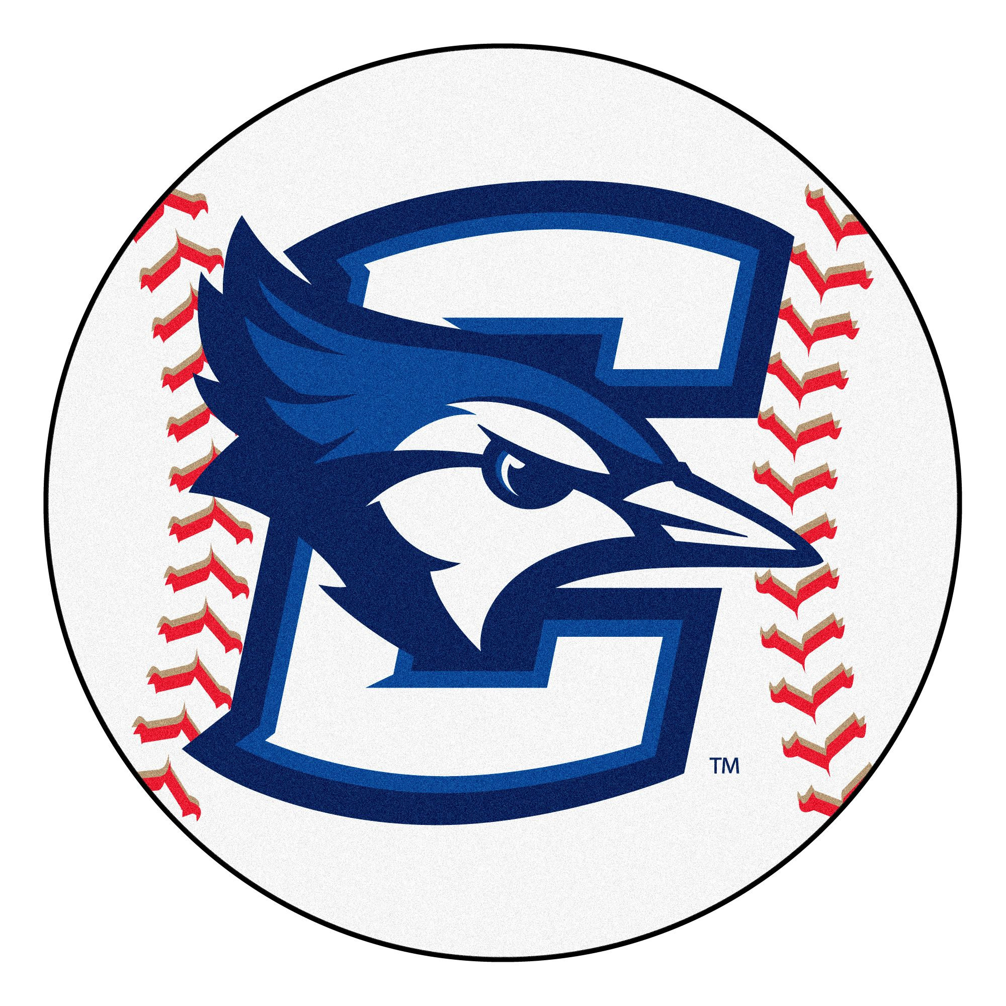 NCAA Creighton University BlueJays Baseball Shaped Mat