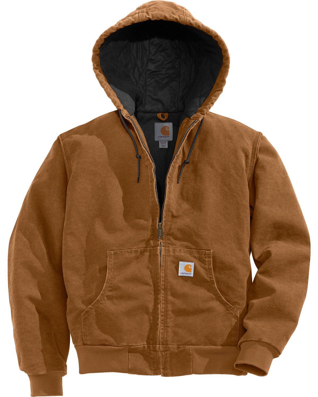 Carhartt Active Sandstone Jacket Brown Carhartt Jacket Womens Active Jacket Womens Jackets Casual [ 1500 x 1200 Pixel ]