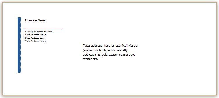 Envelope template design for ms word download at httpwww 40 editable envelope templates for ms word saigontimesfo
