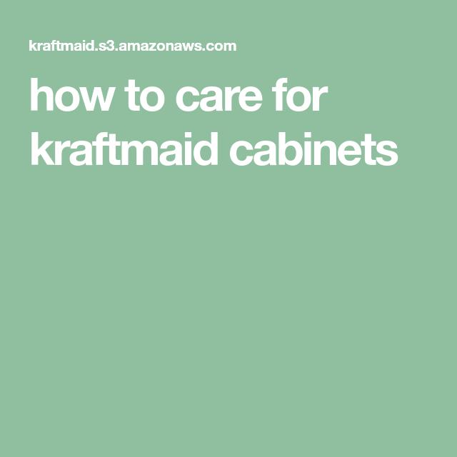 how to care for kraftmaid cabinets   Kraftmaid, Kraftmaid ...