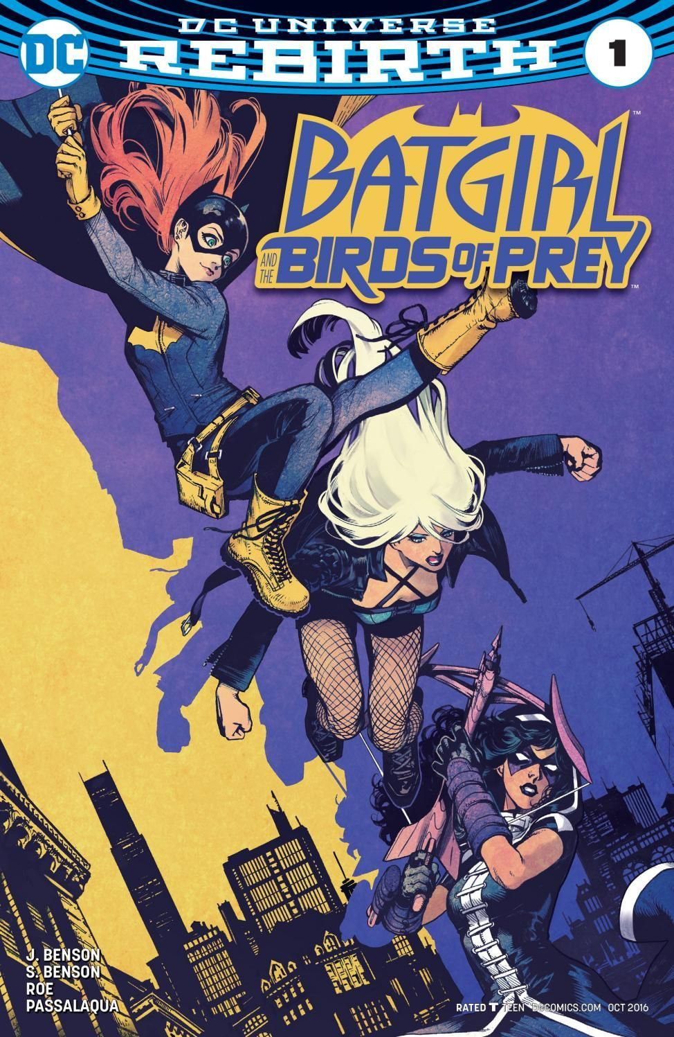 BATGIRL BIRDS OF PREY 01 | Super Marvel-DC | Batgirl, Super