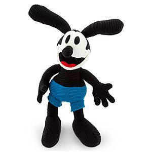 Disney Oswald Knit Doll - 15'' | Disney StoreOswald Knit Doll - 15'' - Our 15'' Oswald Knit Doll is a huggable armful of soft squeezable fun, and with these big floppy rabbit's feet around, your luck will never run out!
