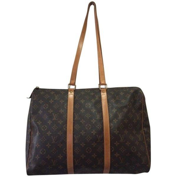 Pre-owned Louis Vuitton Flanerie 45 Shopping Sac Brown Travel Bag ( 620) ❤ b7a9120448