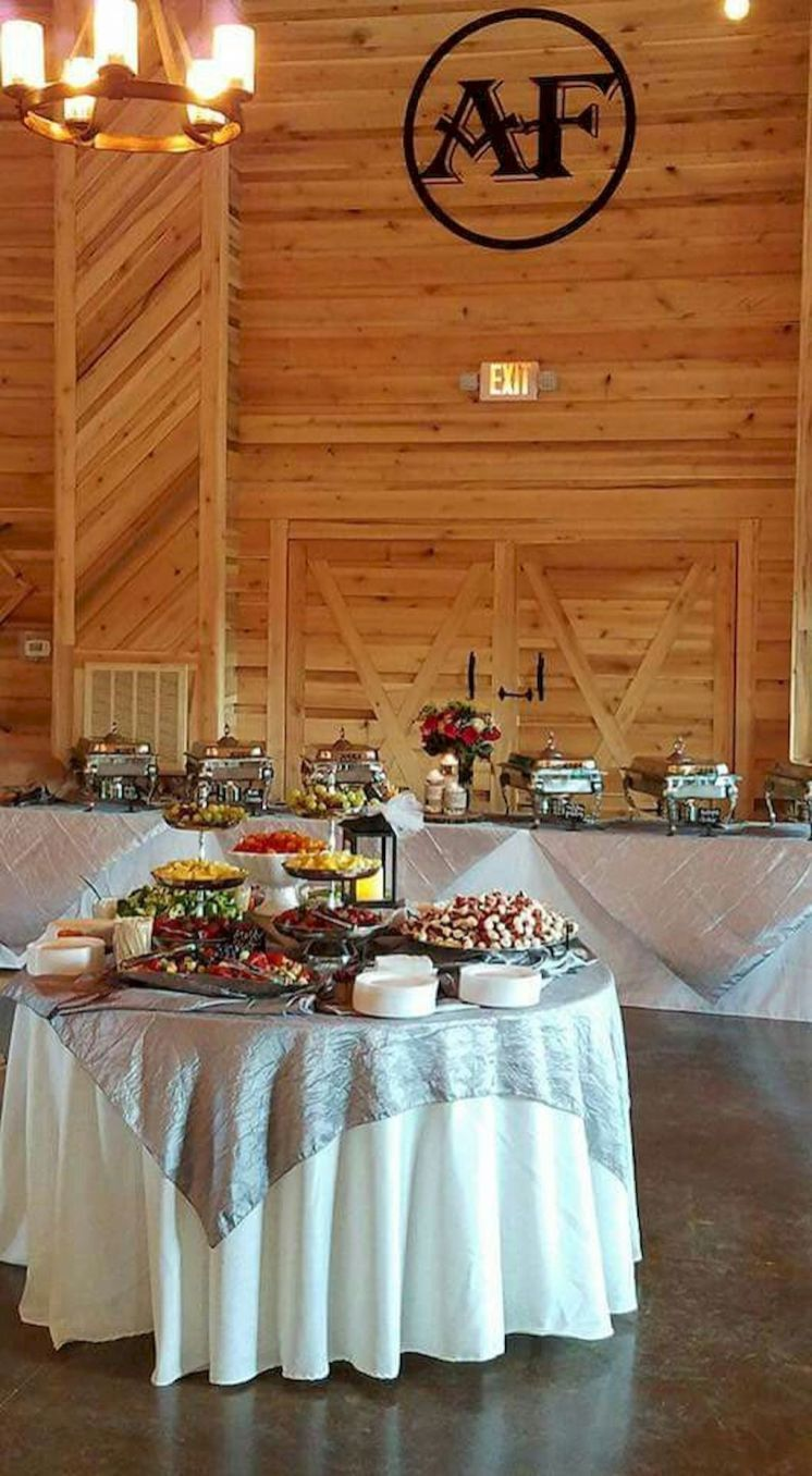 Farmhouse catering foods displays ideas 34 catering