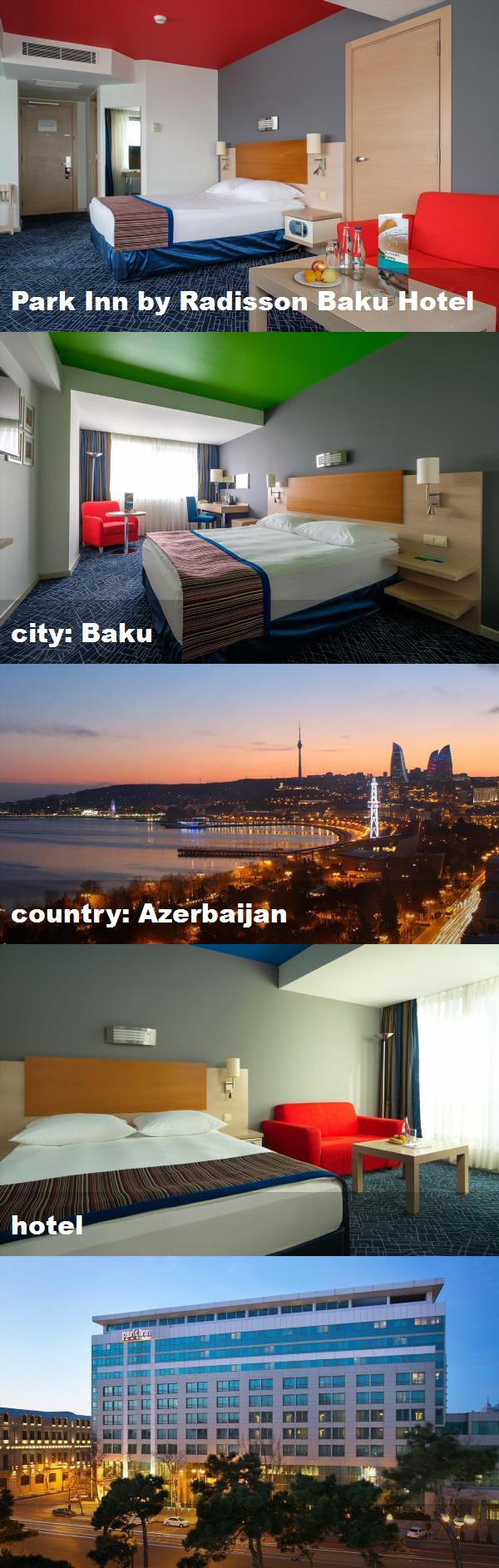 Park Inn By Radisson Baku Hotel City Baku Country Azerbaijan Hotel Baku Hotels Hotel Radisson