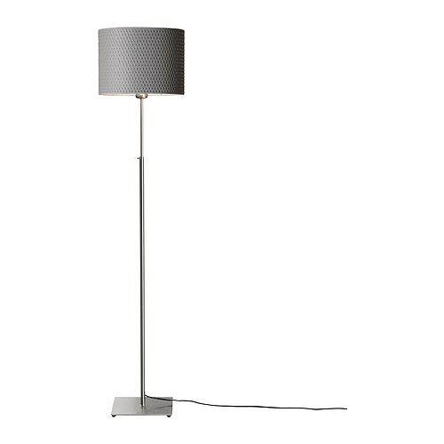 S Floor Lamp Grey, Floor Lamp With Shelves Ikea