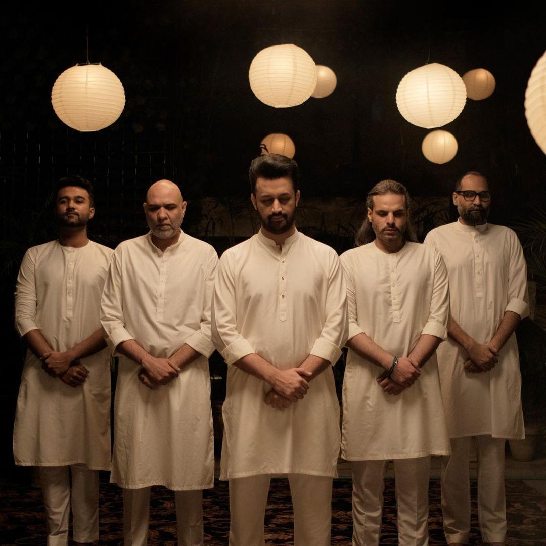 Mustafa Jaane Rehmat | Salam-e-Ajizana | Atif Aslam, Ali Pervez Mehdi, Nouman Javed, Ahsan Pervaiz Mehdi, Kumail Jaffery | Instagram