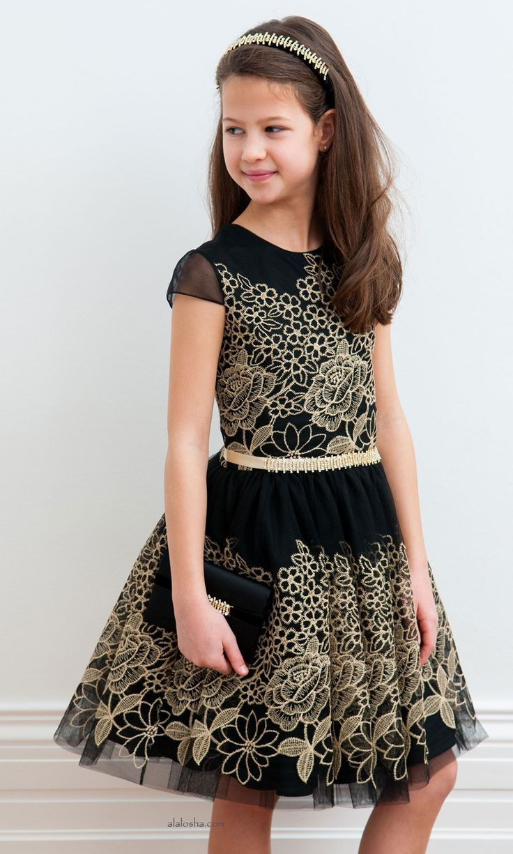 5597fa77f ALALOSHA: VOGUE ENFANTS: Your special girl will go crazy for these dresses  from David Charles AW'15