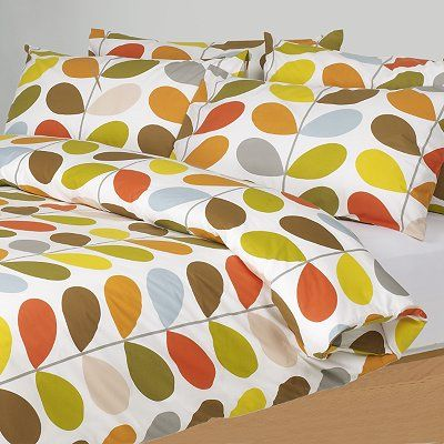 Orla Kiely Multi Stem Duvet Cover Orla Kiely Bedding Duvet Covers Bed