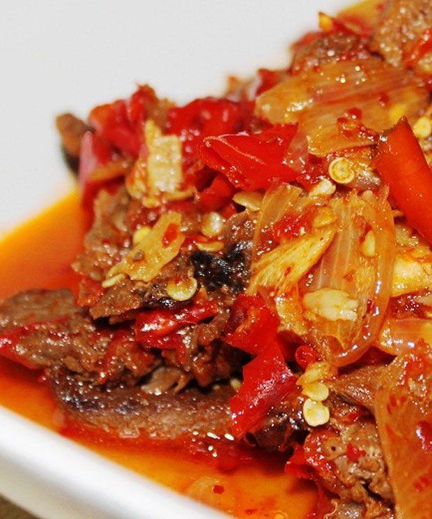 Daging Layu Rica Rica Masakan Khas Subang Masakan Makanan Dan Minuman Resep Daging Sapi