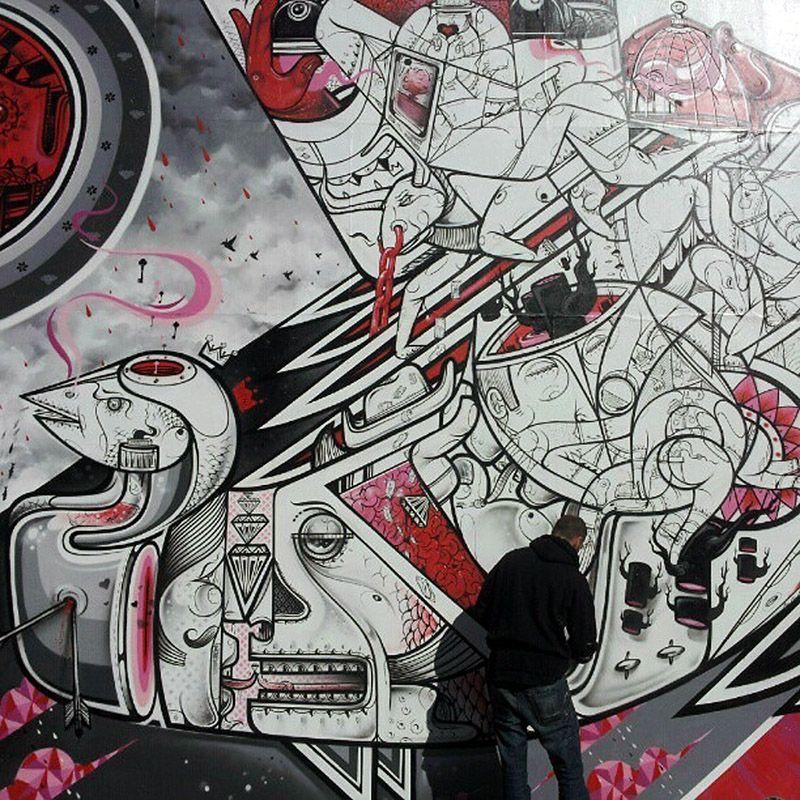 Street Art In Hamburg St Pauli Und Der Schanze Kathrynsky S