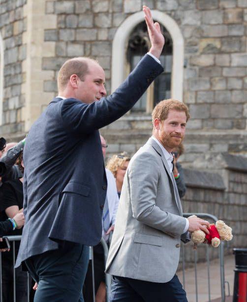 (R-L) Prince Harry And Prince William, Duke Of Cambridge