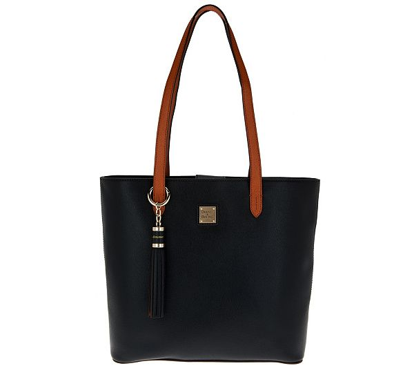 Streamlined And Simple This Hadley Tote Handbag Is The Epitome Of Classic Good Looks From Dooney Bourke Page 1 Qvc