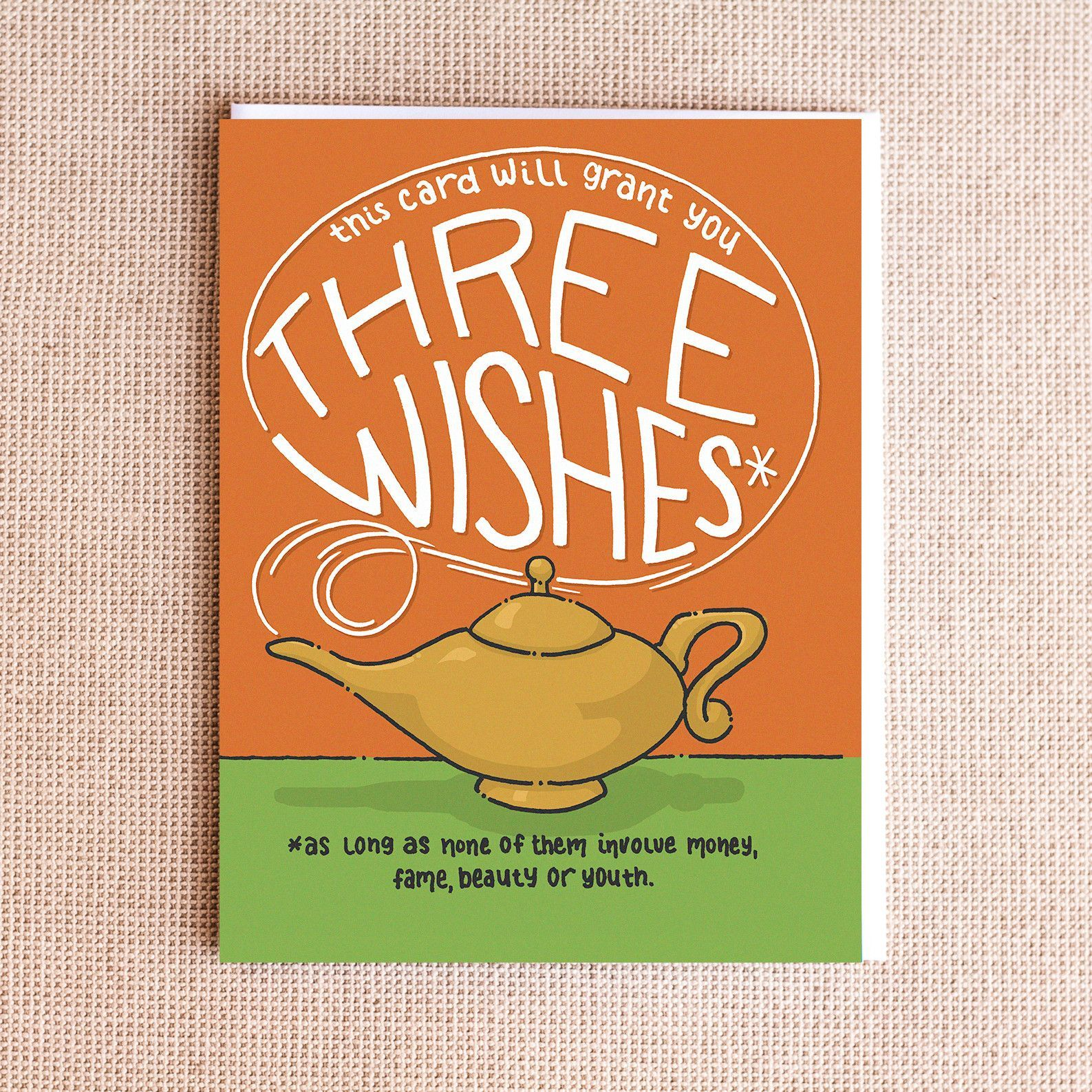 Three Wishes Card