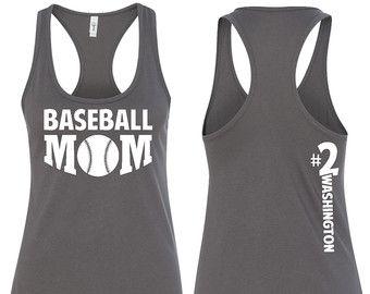 Photo of Baseball Mom Shirt  All star Baseball Mom Tank  All star Mom | Etsy