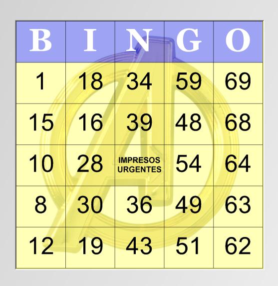 Pin De Impresos Urgentes En Cartones De Bingos Cartones De Bingo Bingo Para Imprimir Carta Originales