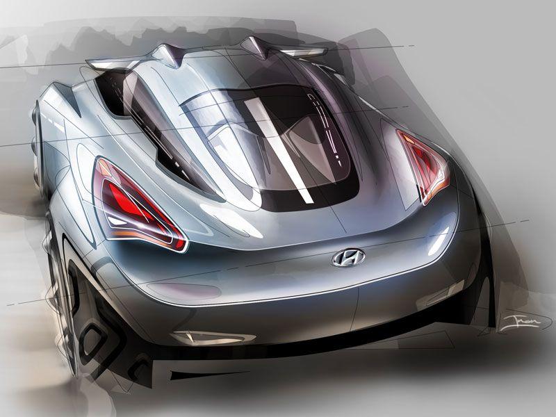 concept car design sketch by Inon Rozen (via simkom.com/sketchsite ...