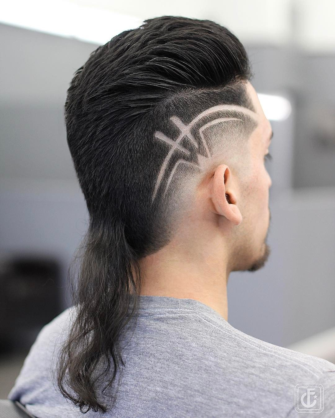 Boy hairstyle cutting 2018 mystery of the mullet haircut in   steeltooth comb pictures
