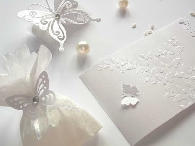Farfalle Segnaposto Matrimonio.Matrimonio Total White Set Completo Bianco Per Matrimonio