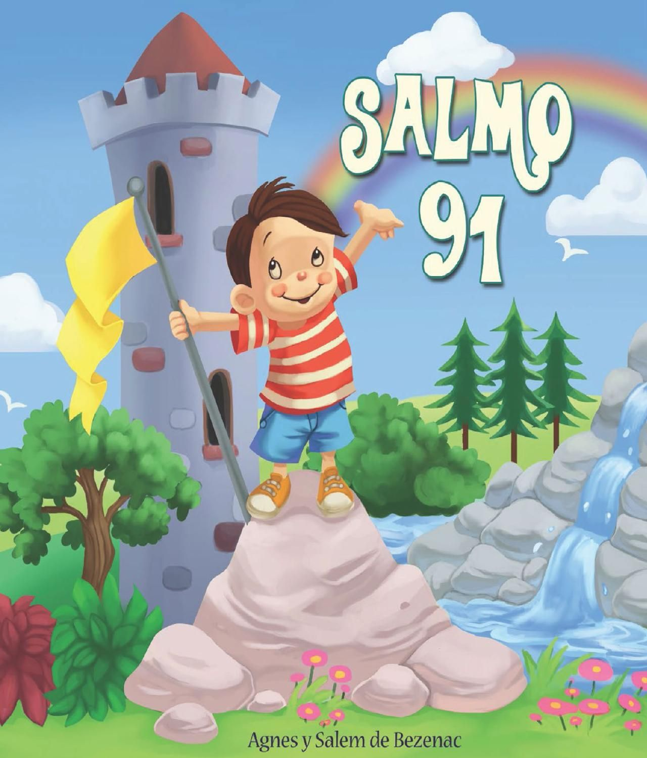 Salmos 91 Psalm 91 Verses For Kids Coloring For Kids