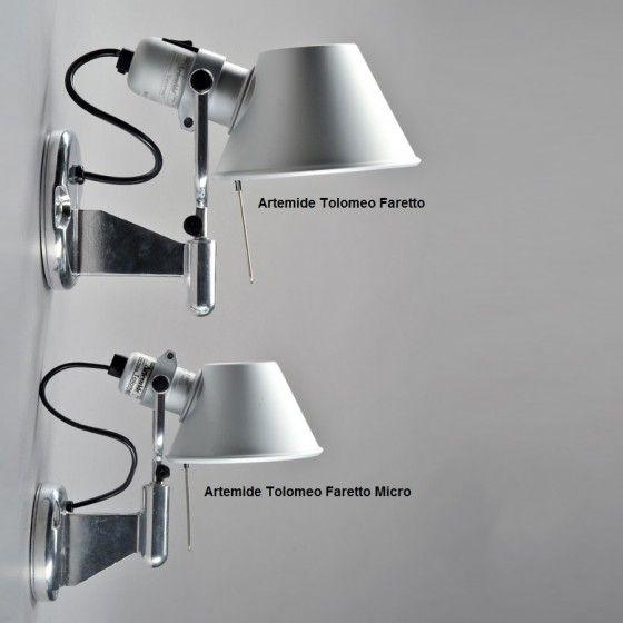 Artemide Tolomeo Faretto Wall Light Tolomeo Wall Lamp Bedside Lighting Wall Lights