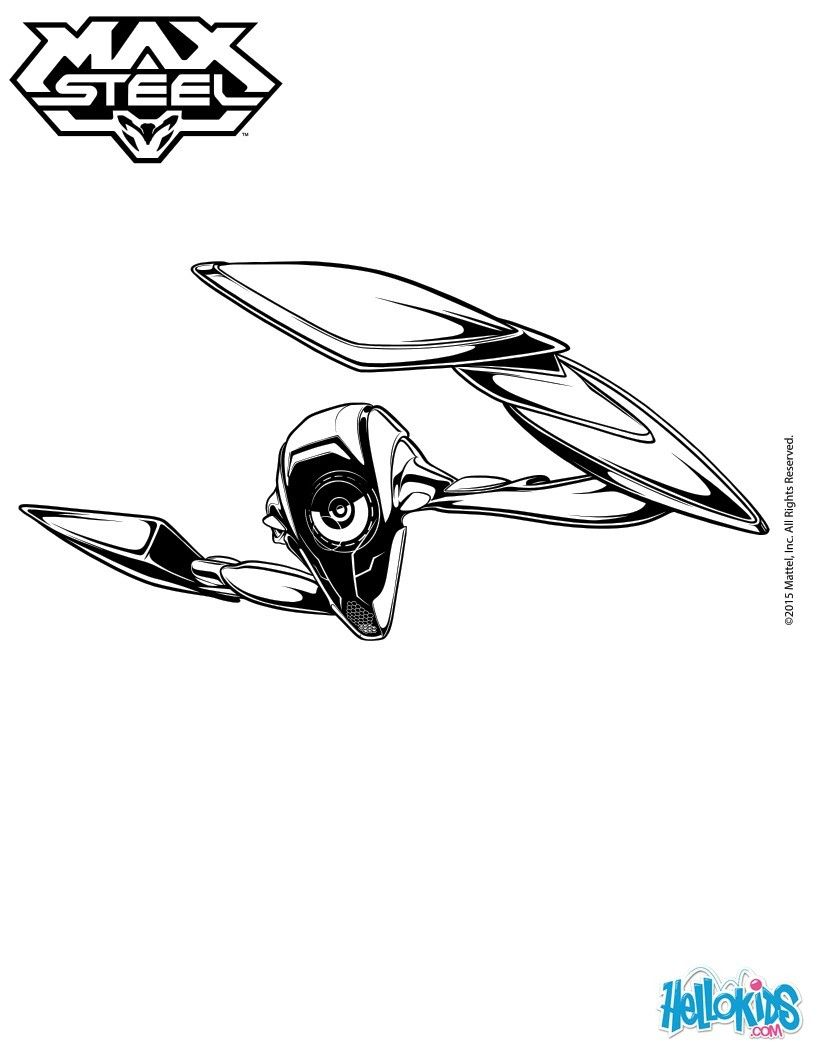 max steel coloring page more tv series coloring sheets on