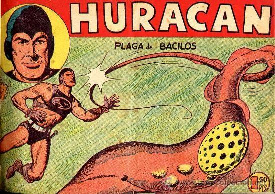 HURACAN JOSE ORTIZ COMPLETA MAGA 1960 20 NºS CAJA 185 BIBLIOTECA ENCUADERNADA (Tebeos y Comics - Maga - Otros)