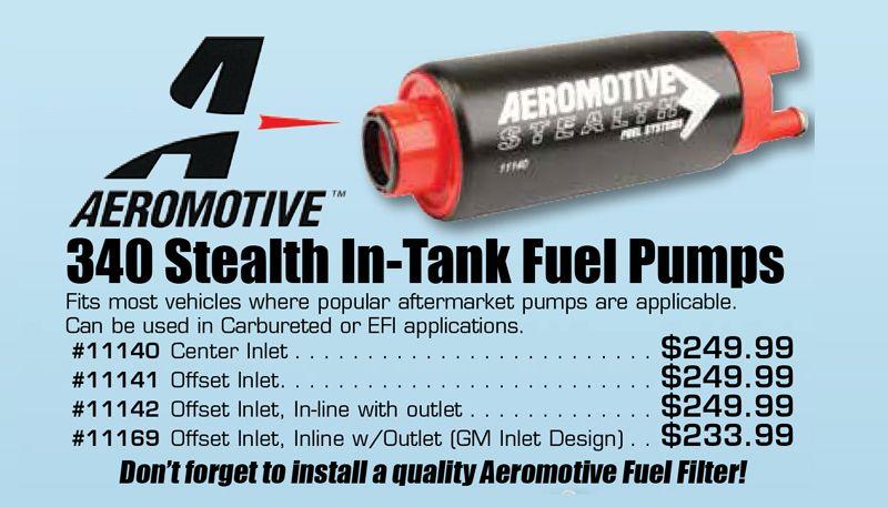 Aeromotive Fuel Pump 11169