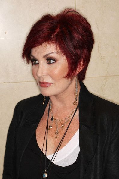 Sharon Osbourne Sterling Dangle Earrings Attended The Nordoff Robbins Clef Awards 2010 Wearing A Pair Of Multi Strand Silver
