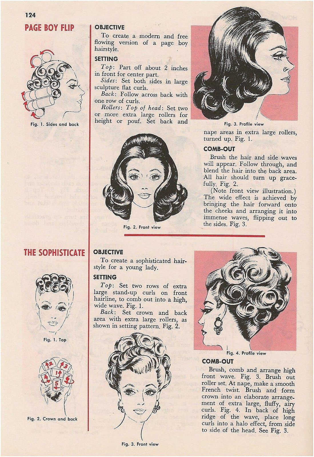 Boy hairstyle back retrotattoos oldschooltattoo page boy flip is fairly easy to do
