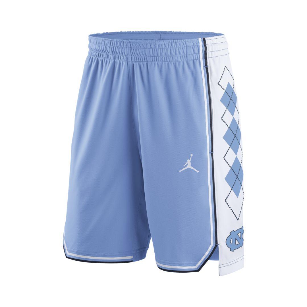 a8aba2fb4b4 Jordan College Replica (UNC) Men's Basketball Shorts Size 2XL (Valor Blue)