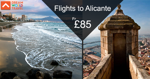 Book cheap flights from London to Alicante with Dream World Travel.Find Cheap Flight Deals on all major airlines.  #Cheap #Flights #To #Alicante #CheapFlights #To #Europe
