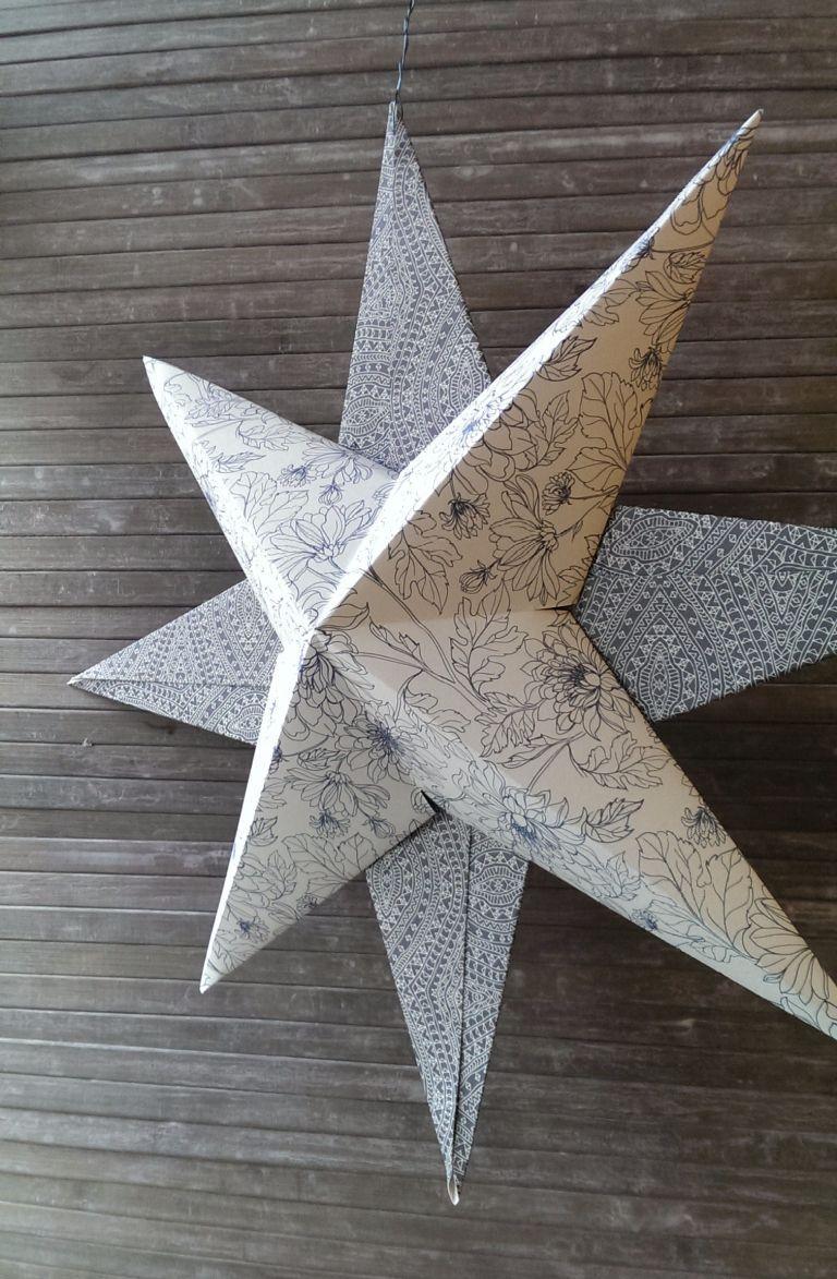 #Deko #DIY #Papierstern #Zauberhafter In dieser Anleitung zeige ich euch Schritt…