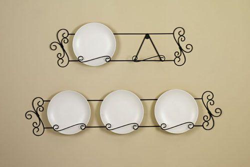 Arabesque Iron Plate Hanger & Arabesque Iron Plate Hanger | Kitchen | Pinterest | Plate hangers ...