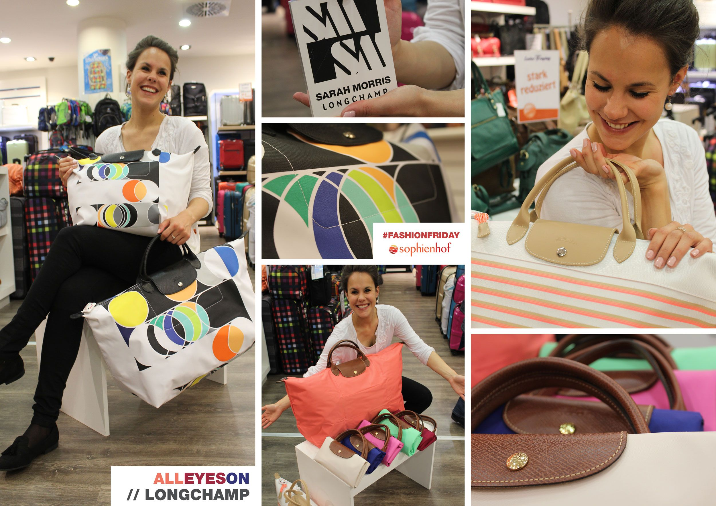 All Eyes On Longchamp Bei Leder Freytag Im Sophienhof Kiel Outfit Trends Ideen
