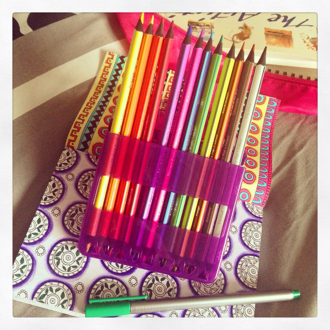 New Colouring Pencils With Images